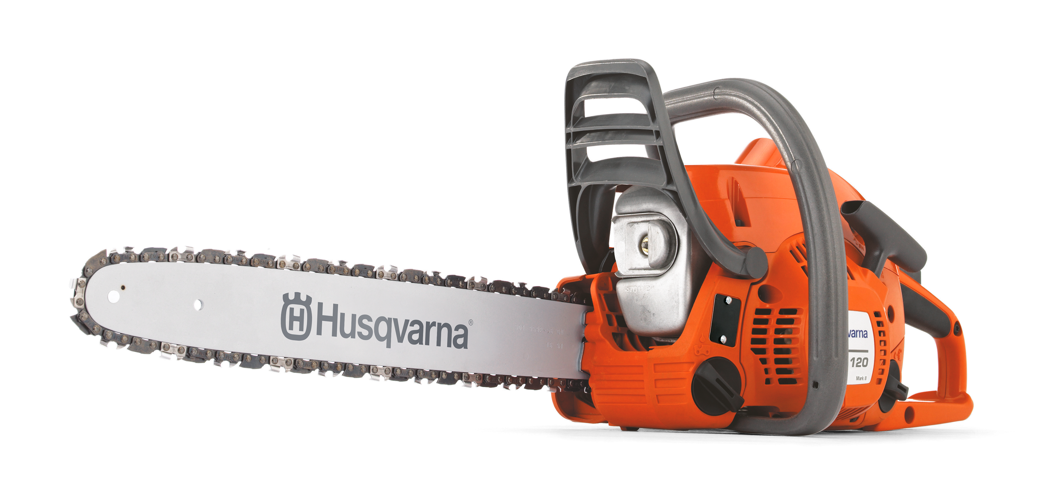 Image for 120 Mark II Gas Chainsaw                                                                                                         from HusqvarnaB2C