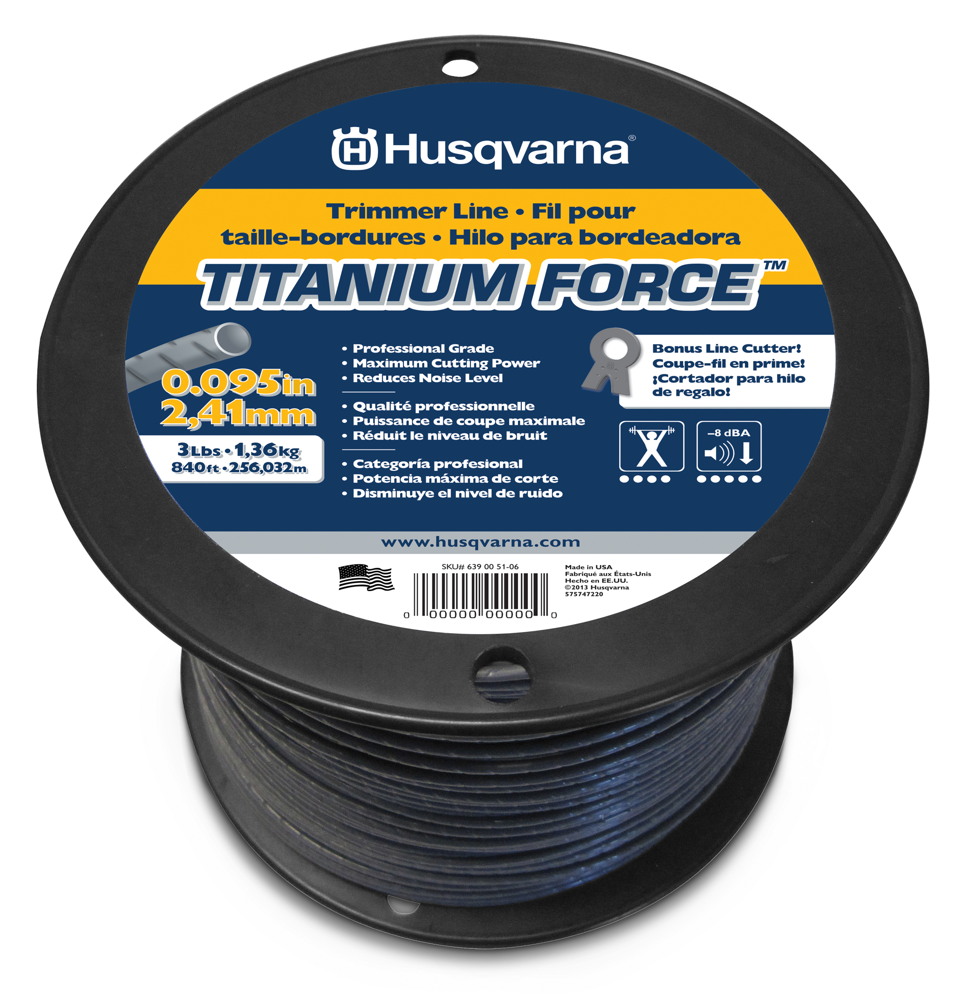 Image for Titanium Force™ Trimmer Line                                                                                                   from HusqvarnaB2C