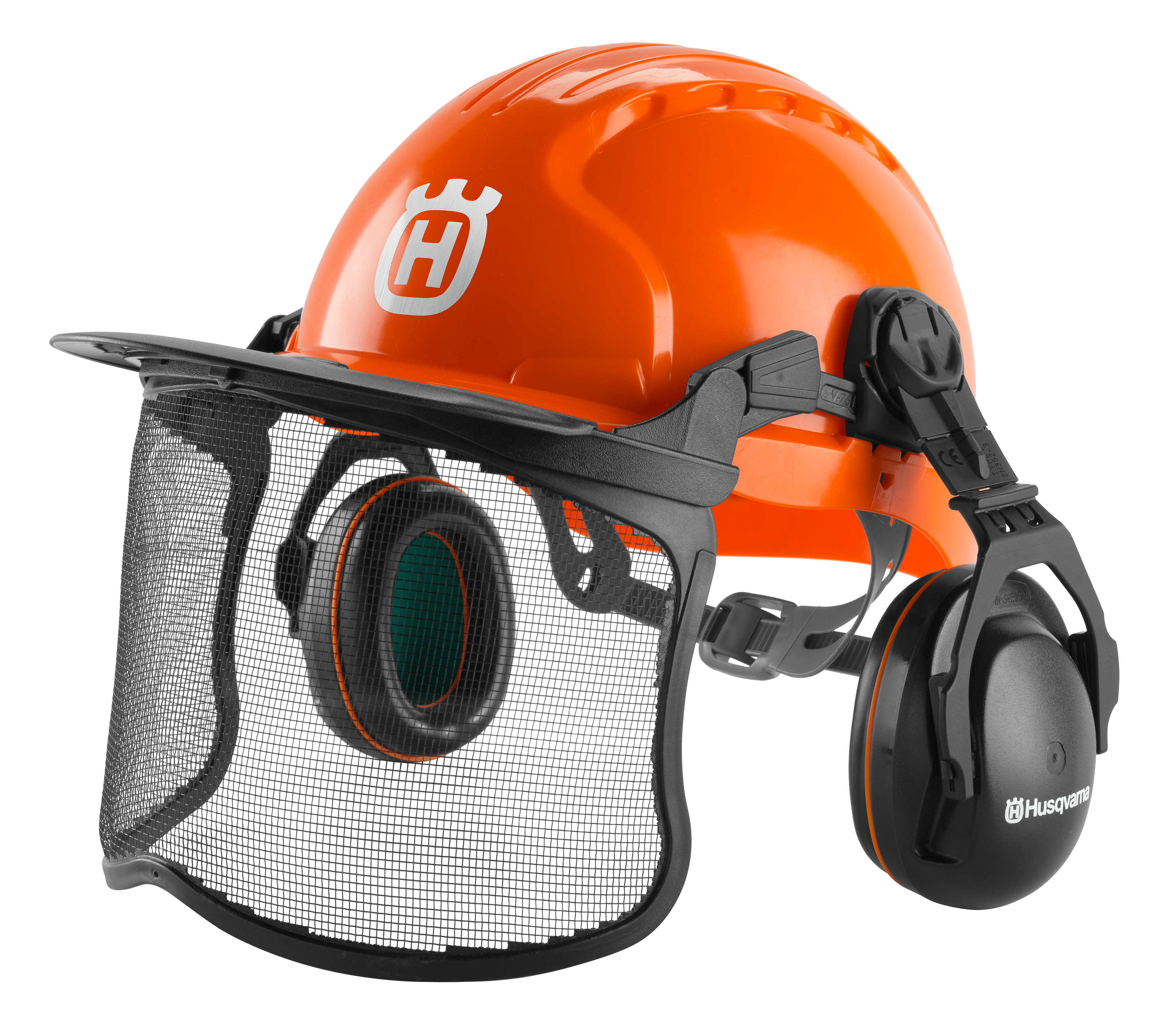 Image for Functional Forest Helmet with Slip Ratchet                                                                                       from HusqvarnaB2C