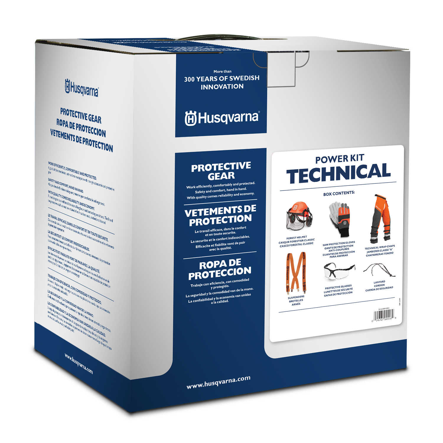 Image for Professional Personal Protection Power Kit                                                                                       from HusqvarnaB2C